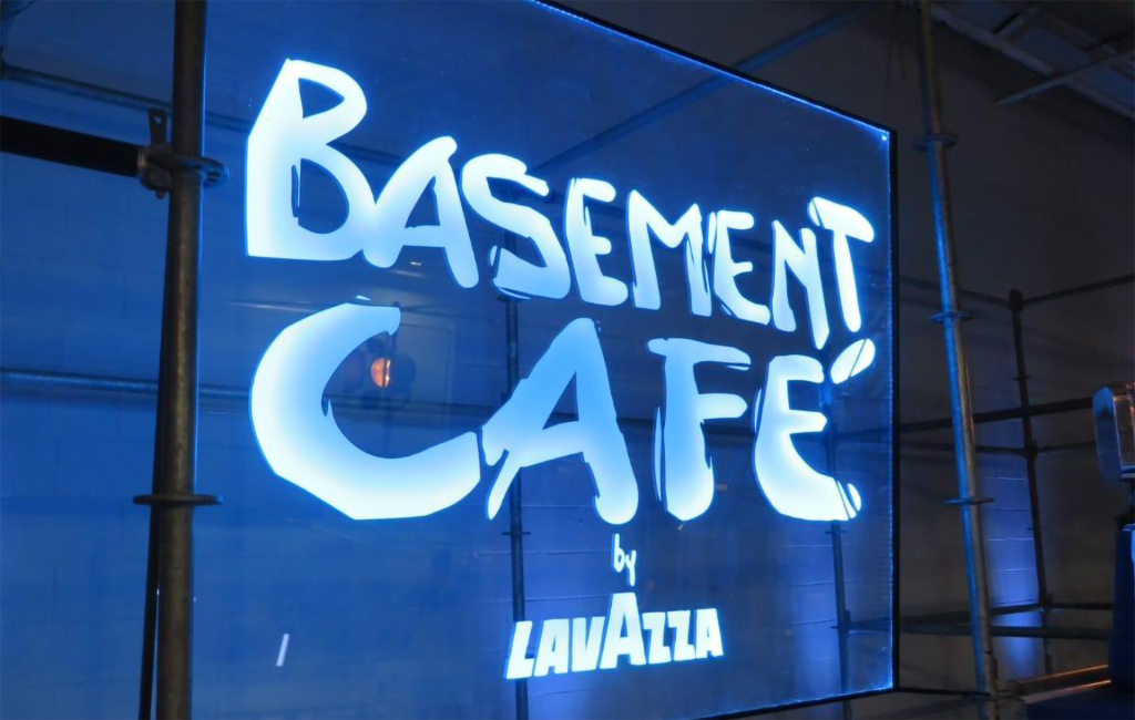 """Lavazza """"Basement Café"""""""